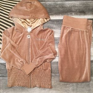 {Guess} velour track suit
